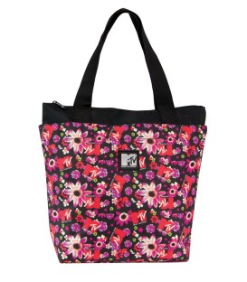TORBA COOLPACK ROCK MTV FLOWERS